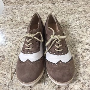 Sugar brand brown & bone women oxford shoes size 9